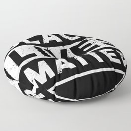 "BLM ""Black Lives Matter!"" Equality Floor Pillow"
