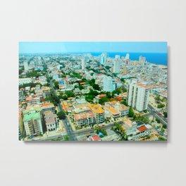 Habana Cityscape  Metal Print
