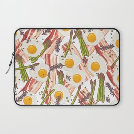 Breakfast pattern Laptop Sleeve