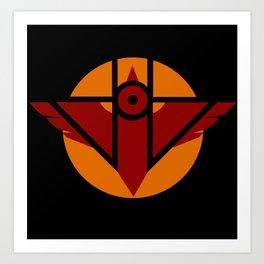 Firebird Insignia (Alternate Coloring 2) Art Print