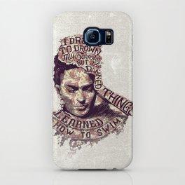 Frida Kahlo Flowers iPhone Case