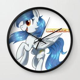 Sunny Showers Wall Clock