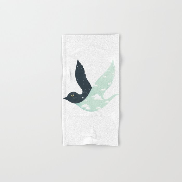 Bipolar Bird Hand & Bath Towel