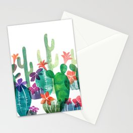 Blooming Desert Stationery Cards