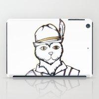 german iPad Cases featuring German Kitty by Sofy Rahman