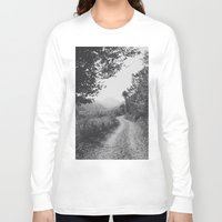 road Long Sleeve T-shirts featuring ROAD by Yigit C.
