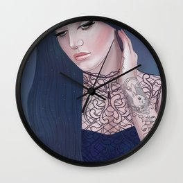 Rabbit, Where'd you put the keys, girl? Wall Clock