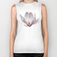 magnolia Biker Tanks featuring Magnolia by Guna Andersone & Mario Raats - G&M Studi