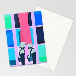 make the world your dance floor Stationery Cards