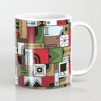 home alone Mugs featuring Not Home Alone by Nick Villalva