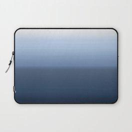 blue ombre paint Laptop Sleeve