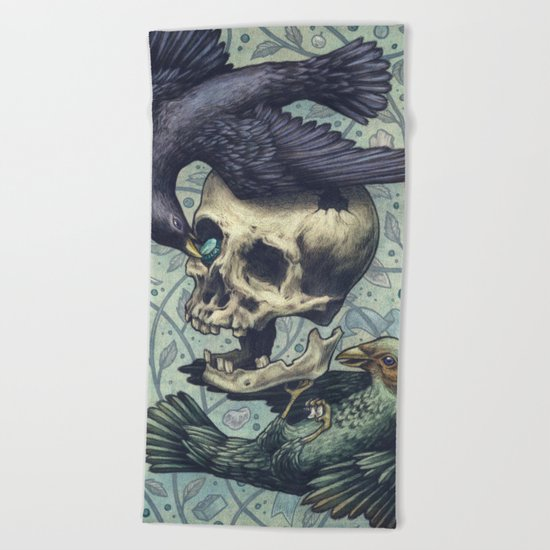 Bowerbirds Beach Towel