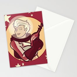 nuka girl Stationery Cards