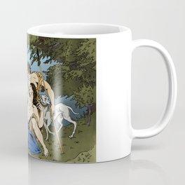 Diana and Callisto Coffee Mug