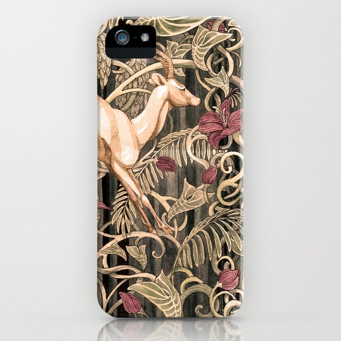 Wild life pattern iPhone Case