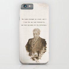 The One Less Traveled By Slim Case iPhone 6s