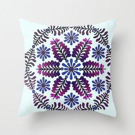 Chicory  Mandala Throw Pillow