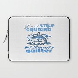 Cruise Lovers Laptop Sleeve