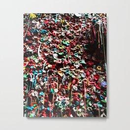 Gum wall Metal Print
