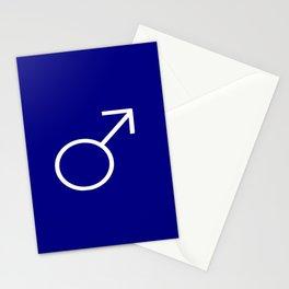 symbol of man 4 Stationery Cards