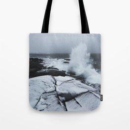 Winter Storm Tote Bag