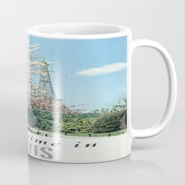 Vintage poster - Springtime in Paris Coffee Mug