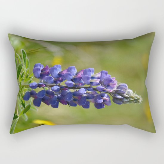 Nootka Lupine Rectangular Pillow