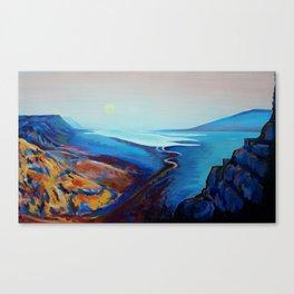 Masada Israel Canvas Print