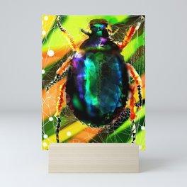 The Beetle Mini Art Print