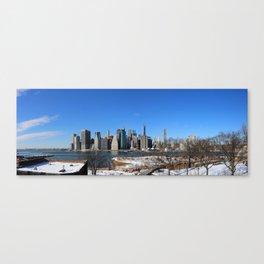 Manhattan Skyline Panorama Canvas Print