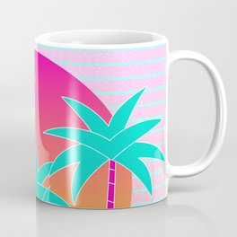 Hello Miami Sunset Coffee Mug