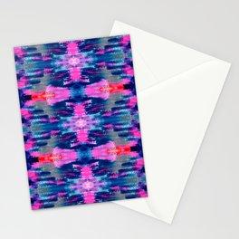 kaleidoscope art smears Stationery Cards