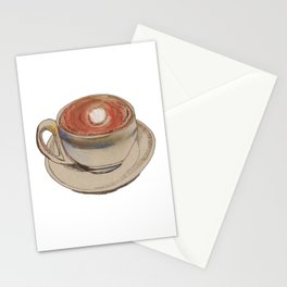 Coffee Lines Stationery Cards