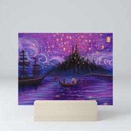 The Lantern Scene Mini Art Print
