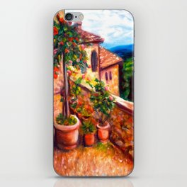 Little Tuscan Town iPhone Skin