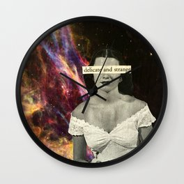 Delicate and Strange Wall Clock