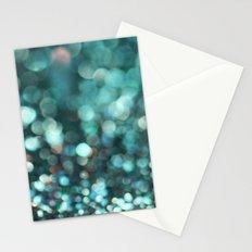 MERMAID GLITTER EMERALD Stationery Cards