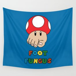 Foot Fungus Wall Tapestry