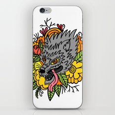 wild wolf iPhone & iPod Skin