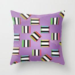 Glitch Allsorts Throw Pillow