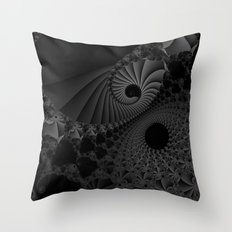 Finding the way out Throw Pillow