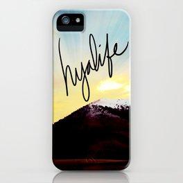 Montana Hyalife Sunburst  iPhone Case