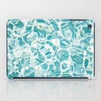 swim iPad Cases featuring Swim by Melanie Alexandra