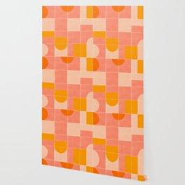 Retro Tiles 03 #society6 #pattern Wallpaper
