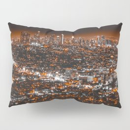 Los Angeles Panorama Pillow Sham