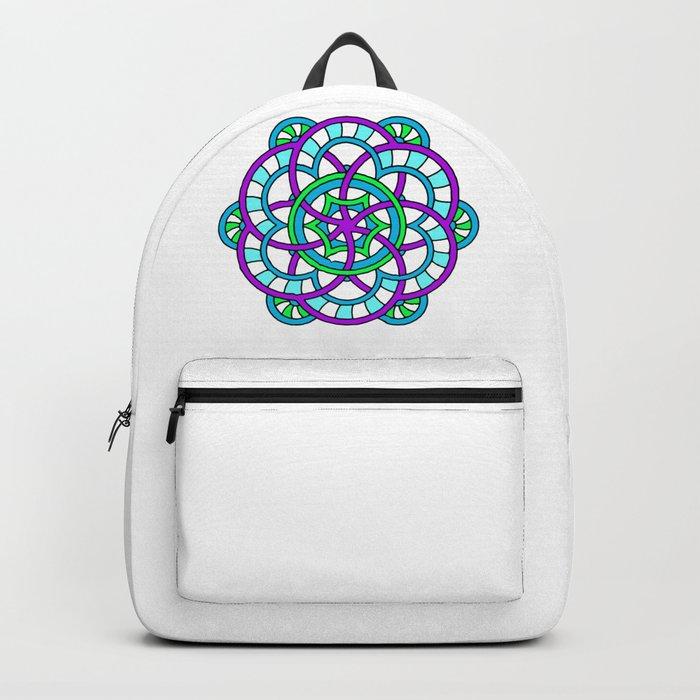 Celtic   Colorful   Mandala Backpack