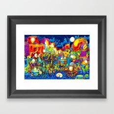 Chatbots Framed Art Print