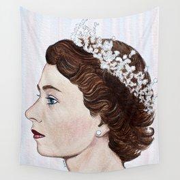 Elizabeth II Wall Tapestry