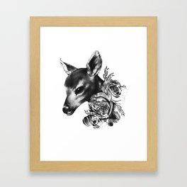 Fawn & Flora II Framed Art Print