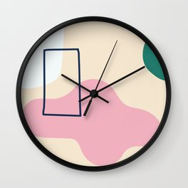 silence is deadly Wall Clock